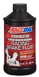 DOMINATOR DOT 4 Synthetic Racing Brake Fluid (BFR)